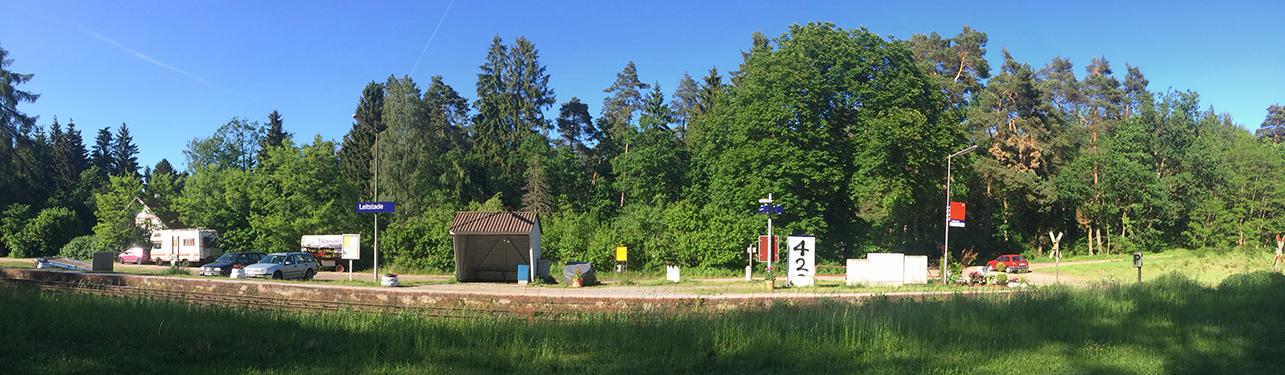 Waldbahnhof Leitstade